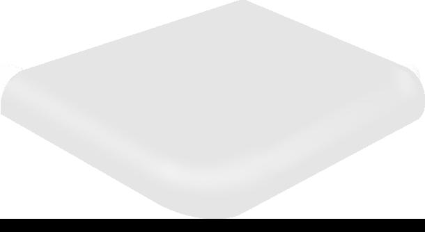 Biały półmat